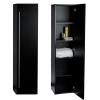 "116"" x 67"" Linen Cabinet in Black TN-N1200-SC-BK"