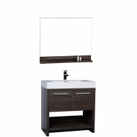 "32"" Bathroom Vanity Set - Grey Oak TN-L800-GO"