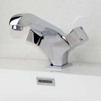 CBI Knight Single Hole Bathroom Faucet in Chrome M11170-882C