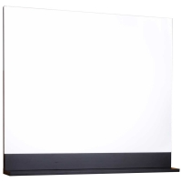 38 in. W x 32 in. H x 3/4 in. D Frameless Wall Mirror in Dark Espresso WH-7342-ESP