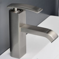 CBI M11001-081b Ouli  Single Hole Bathroom Faucet in Chrome