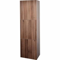 "18"" Walnut Linen Cabinet TN-T730-SC-WN"