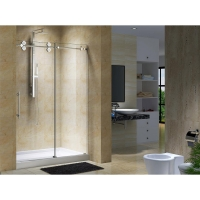 "Skywalker 56"" to 60"" Frameless Sliding Shower Doors"