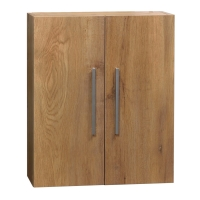Over-the-toilet Wall Cabinet Natural Oak 20.5 in. W x 24.4 in. H TN-T520-SC-NO