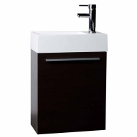 "18"" Bathroom Vanity Set  Espresso TN-T460-ESP"