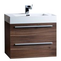"26.75"" Single Bathroom Vanity Set in Black TN-T580-GO"