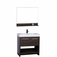 "32"" Bathroom Vanity Set - Grey Oak TN-L800-GO"