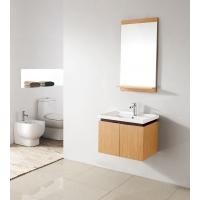 "Pesaro 23.5"" Wall-mount Bathroom Vanity Set NATURAL RED OAK Finish VM-V14177-RO"