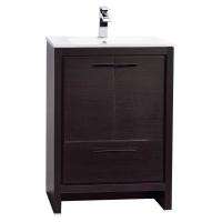 CBI Enna 23.5-inch Grey Oak Modern Bathroom Vanity TN-LA600-WG