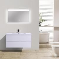 "Angela 41.9"" Wall-Mount Bathroom Vanity High Gloss White TN-AG1065-1-HGW"