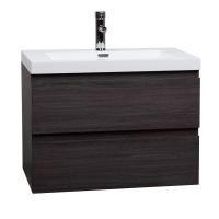 "Angela 29.5"" Wall-Mount Bathroom Vanity Natural Oak TN-AG750-NE"