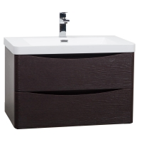 "Merida 30"" Wall-Mount Bathroom Vanity  Chestnut TN-SM760-CN"