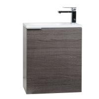 "20"" Wall Mounted Bathroom Vanity Set  RS-L500-OAK"