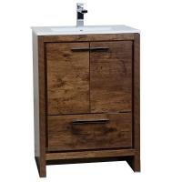 CBI Enna 23.5-inch Rosewood Modern Bathroom Vanity TN-LA600-RW