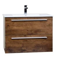 """Nola 29.5"""" Wall-Mount Modern Bathroom Vanity Rose Wood TN-T750C-RW"""