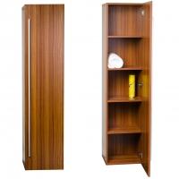 """16"""" x 67"""" Linen Cabinet in Walnut TN-N1200-SC-TK"""