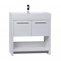 "LODI 32"" Modern Bathroom Vanity  Glossy White TN-L800-HGW"