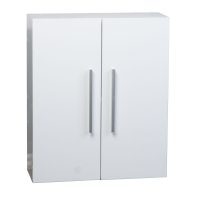 Over-the-toilet Wall Cabinet in Glossy White 20.5 in. W x 24.4 in. H TN-T520-SC-HGW