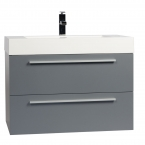 "31.25"" Wall-Mount Modern Bathroom Vanity in High Gloss White TN-M800-HGW"