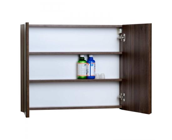 Medicine Cabinet w Mirror Walnut 31.5 in. W x 26 in. H TN-TB800-MC-WN