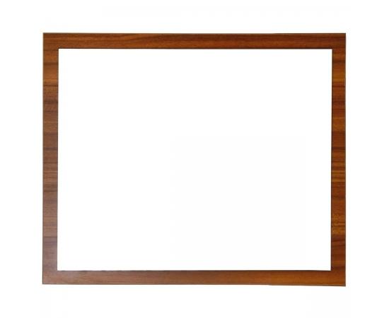 """31"""" teak mirror framed"""