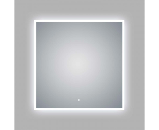"LED Illuminated Bathroom / Vanity Wall Mirror 35.5"" x 35.5"" LAM-049C"
