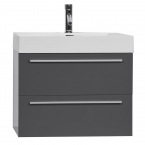 "27"" Single Bathroom Vanity Set in High Gloss Grey TN-T690-HGCG"