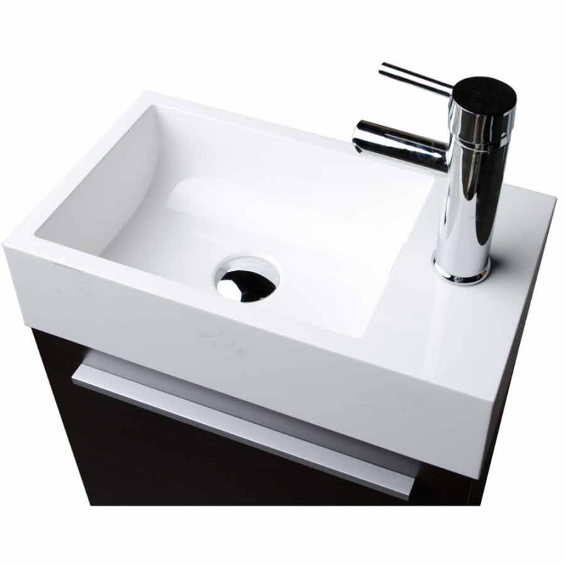 "18"" Bathroom Vanity Set - Espresso"