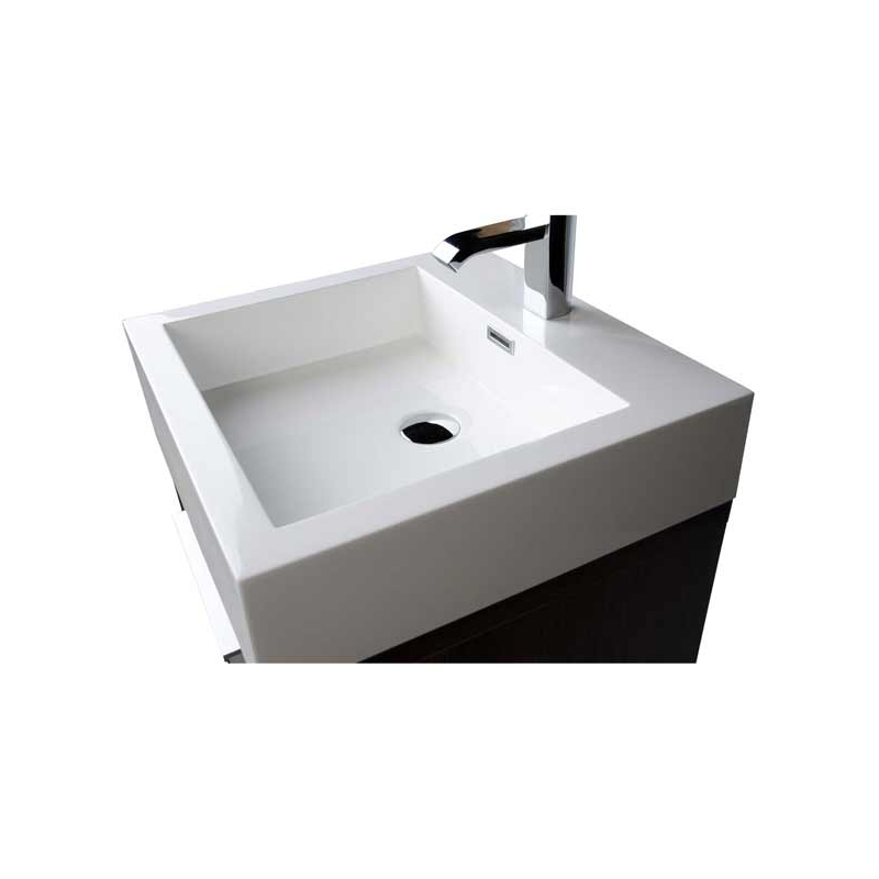 20 inch Bathroom Vanity Set Espresso TN-L500-GO