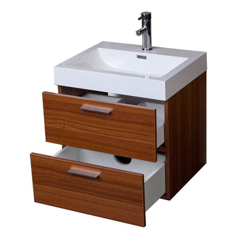 "22.75"" Single Bathroom Vanity Set in Grey Oak TN-T580-TK"