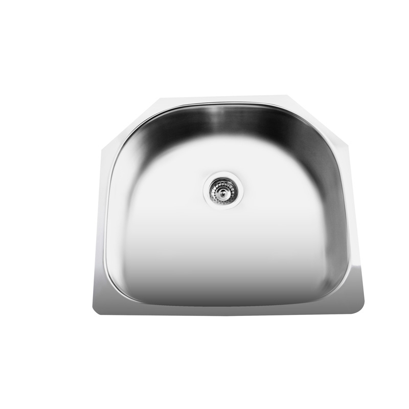 "23"" Stainless Steel Single Drop-in Kitchen Sink SN-US307"
