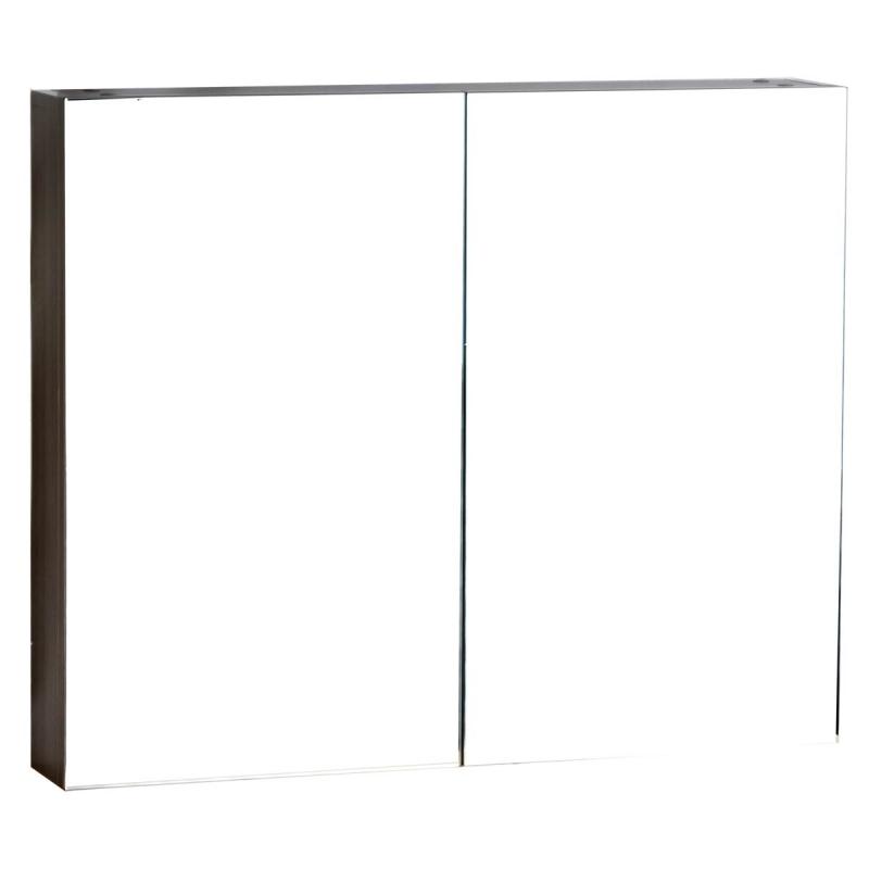 Medicine Cabinet w Mirror Grey Oak 31.5 in. W x 26 in. H TN-TB800-MC-GO