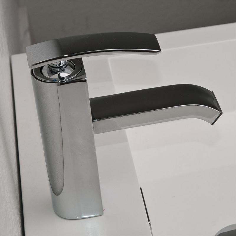 CBI M11001-081c Ouli Single Hole Bathroom Faucet in Chrome