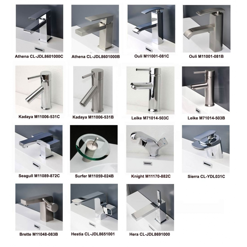 Buy bathroom faucets with vanities and save 10%!