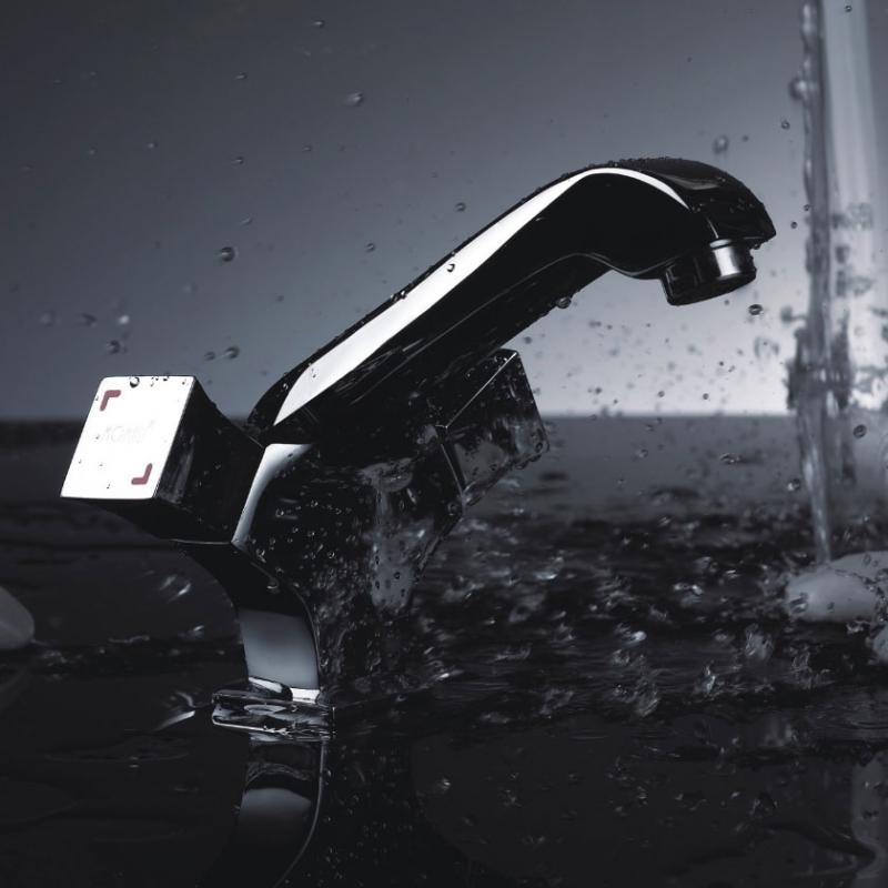 CBI Knight Single Hole Bathroom Faucet in Chrome M11170-882C