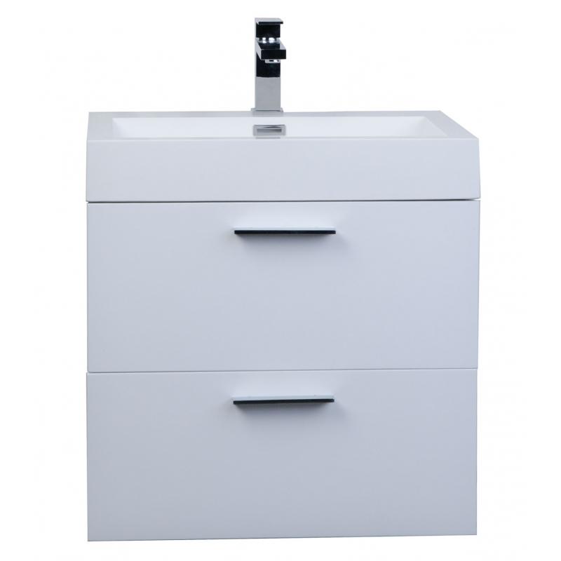 "22.75"" Single Bathroom Vanity Set High Gloss White TN-T580-HGW"