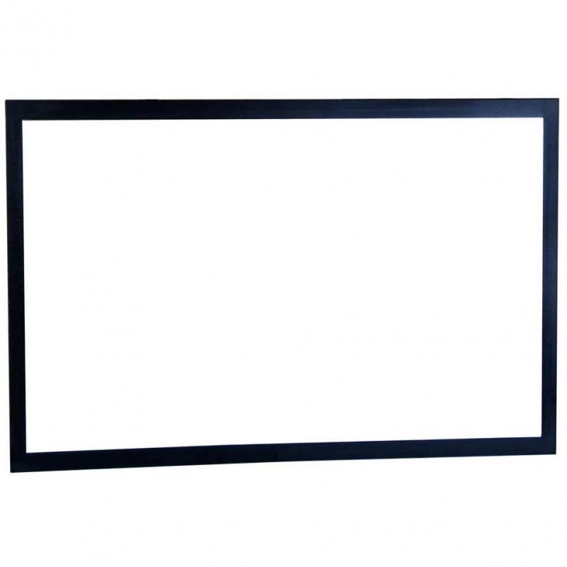 """39.25"""" framed wall mirror black"""