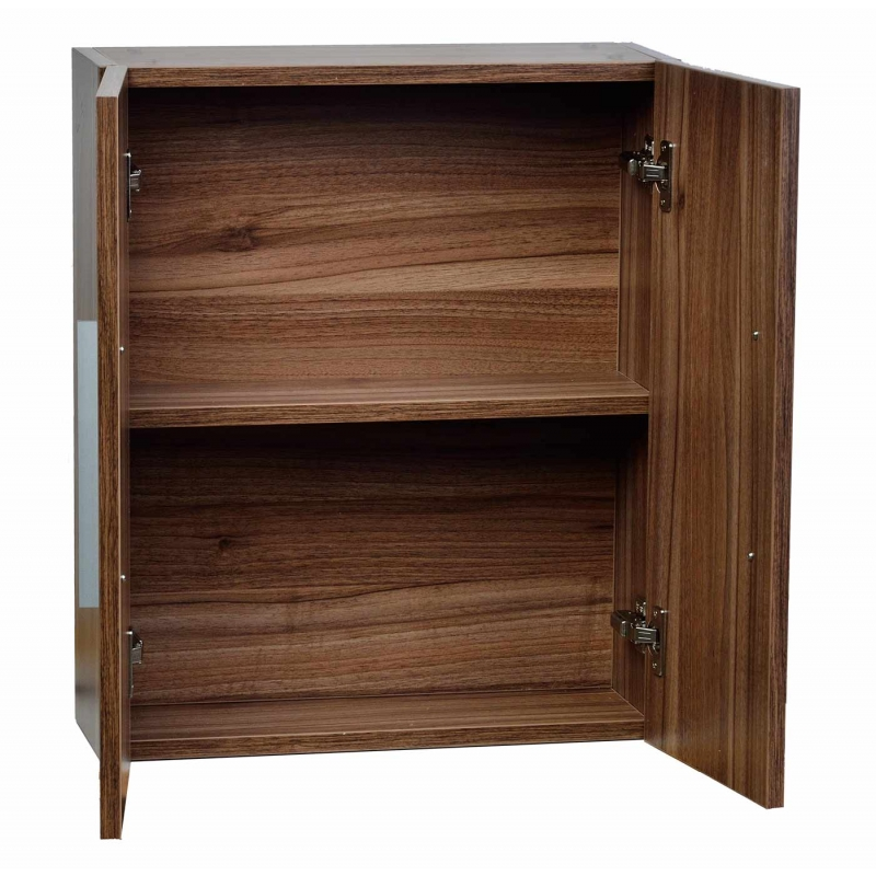 Over-the-toilet Wall Cabinet Walnut 20.5 in. W x 24.4 in. H TN-T520-SC-WN