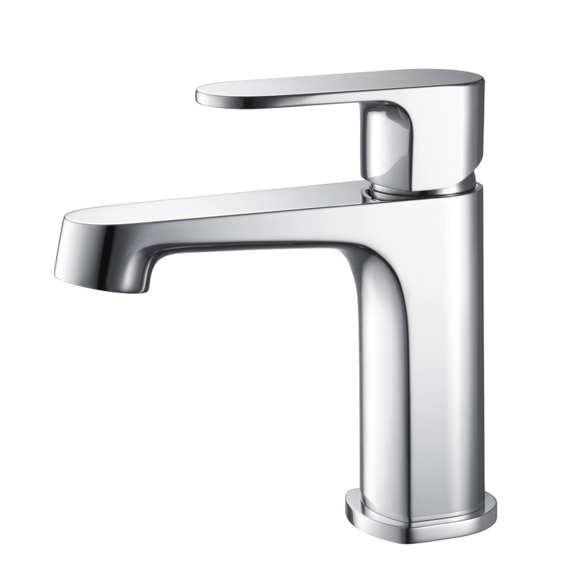 CBI Columbia Single Handle Bathroom Faucet in Brushed Nickel AV-BF04CH