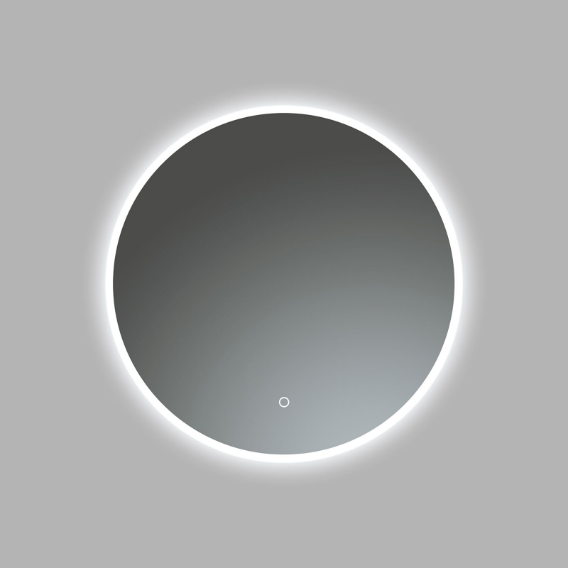 "24""D Circular LED Illuminated Bathroom / Vanity Wall Mirror LAM-005"