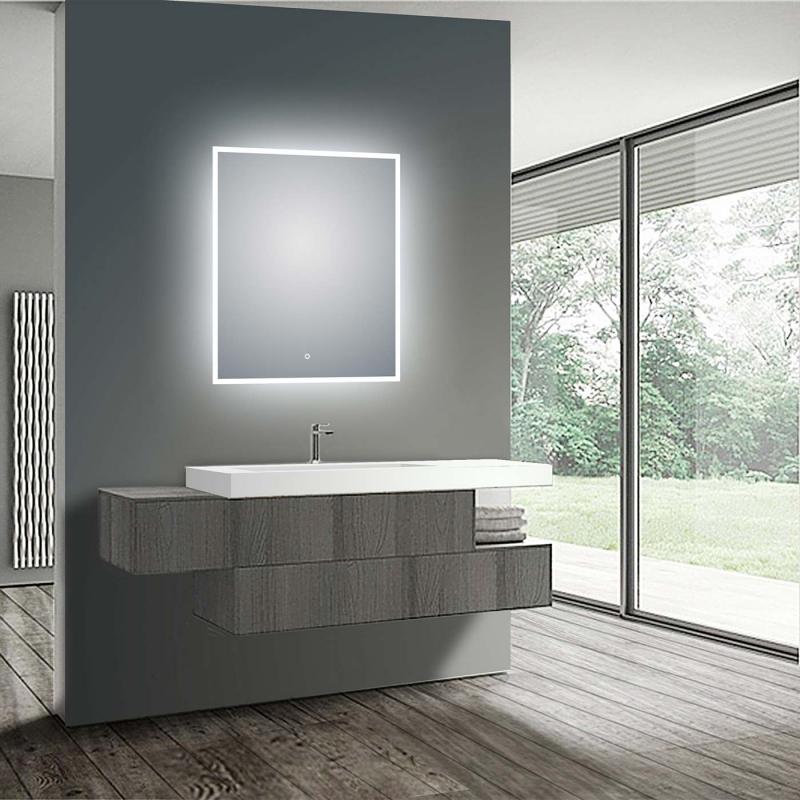 LED Illuminated Bathroom / Vanity Wall Mirror GH-LM2432