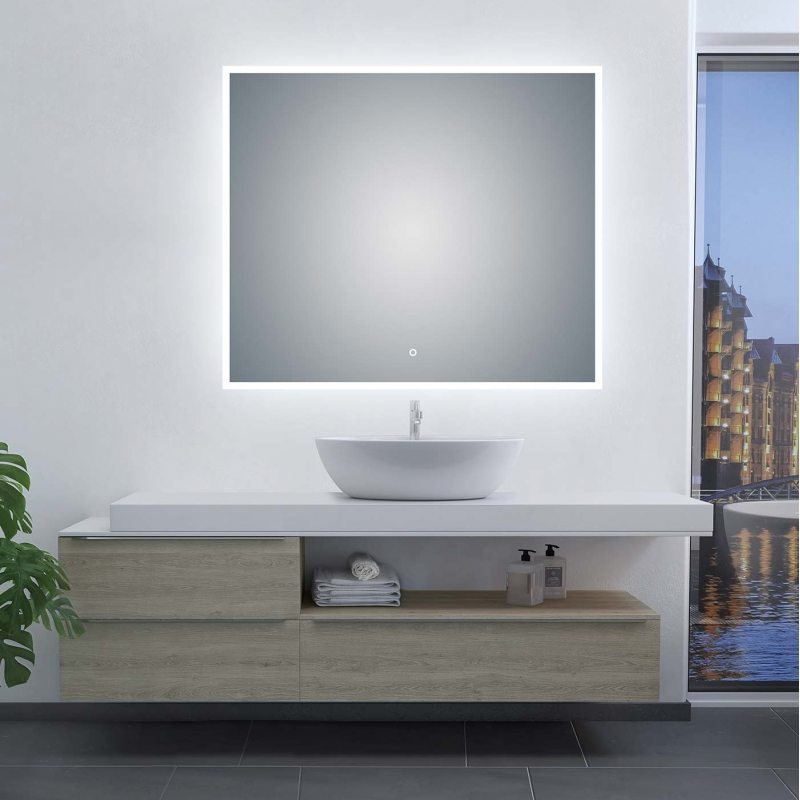 LED Illuminated Bathroom / Vanity Wall Mirror GH-LM2432