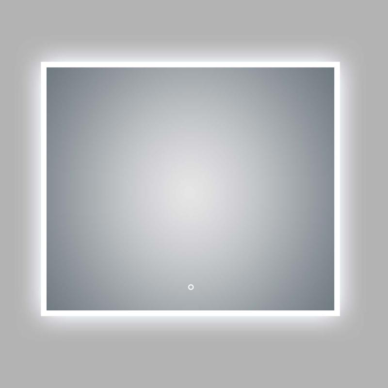 "LED Illuminated Bathroom / Vanity Wall Mirror 41.9"" x 35.5"" LAM-049D"