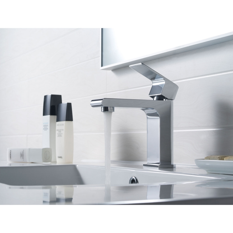 CBI Trent Single Control Bathroom Faucet in Chrome AV-BF01CH