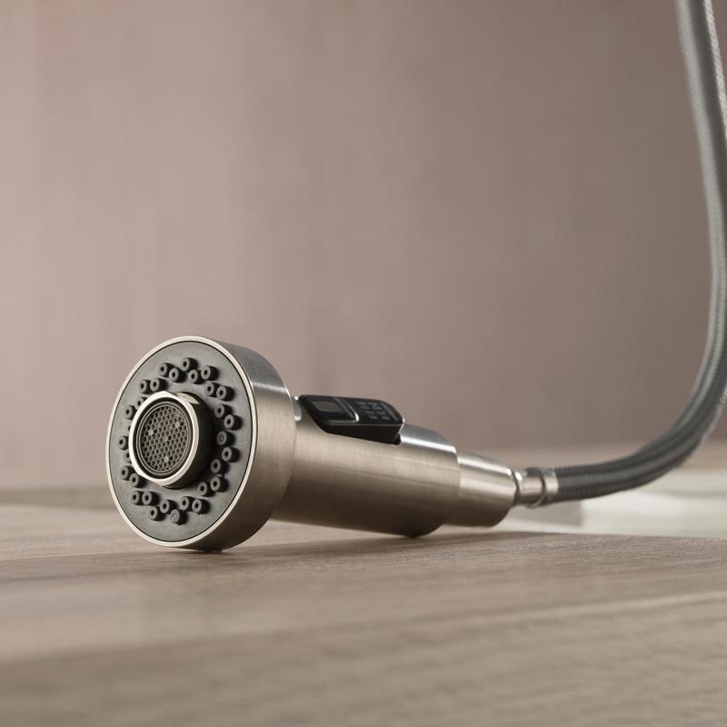 CBI Pull Down Single Handle Kitchen Faucet AV-KF01BN